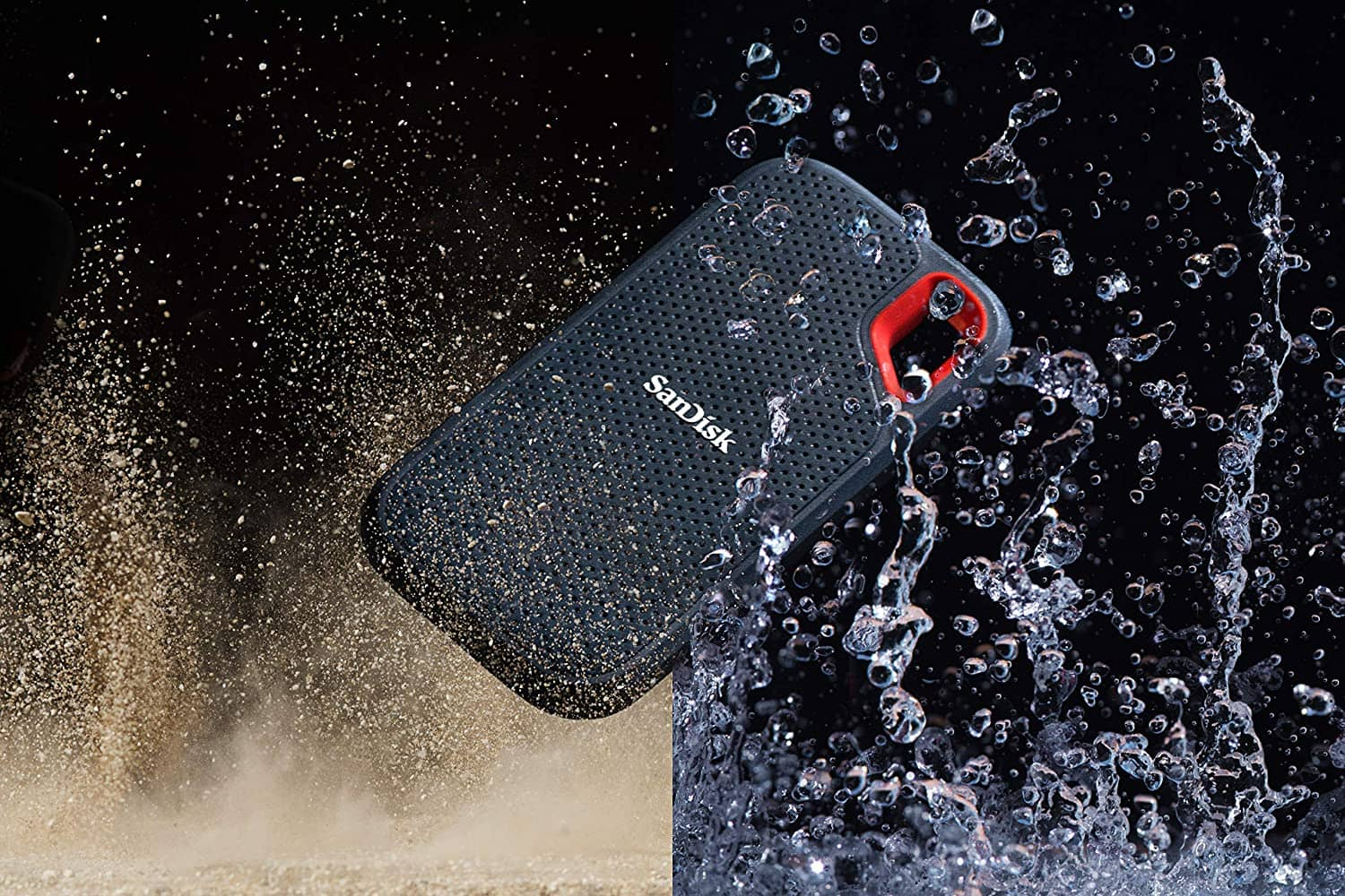 SanDisk Extreme Portable SSD Water and Dust-min